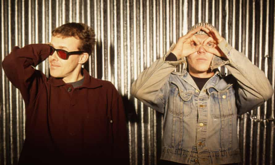 'Damon Albarn said one track was so loud, he felt it vibrating in his throat' … Neil Barnes, left, and Paul Daley of Leftfield.