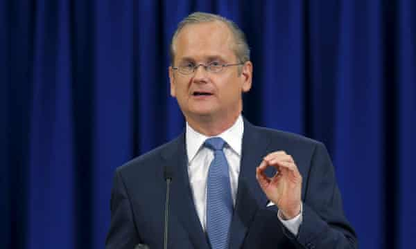 Lawrence Lessig: 'The Republicans are so good at the chutzpah of their claim to power.'