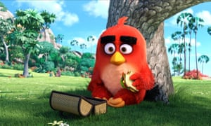 'Low on nutrition, high on noise': The Angry Birds Movie.