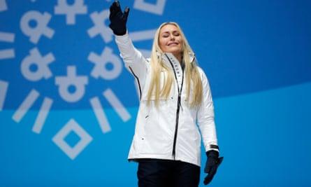 Lindsey Vonn won her third Olympic medal on Wednesday.