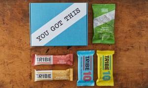 Tribe snacks.