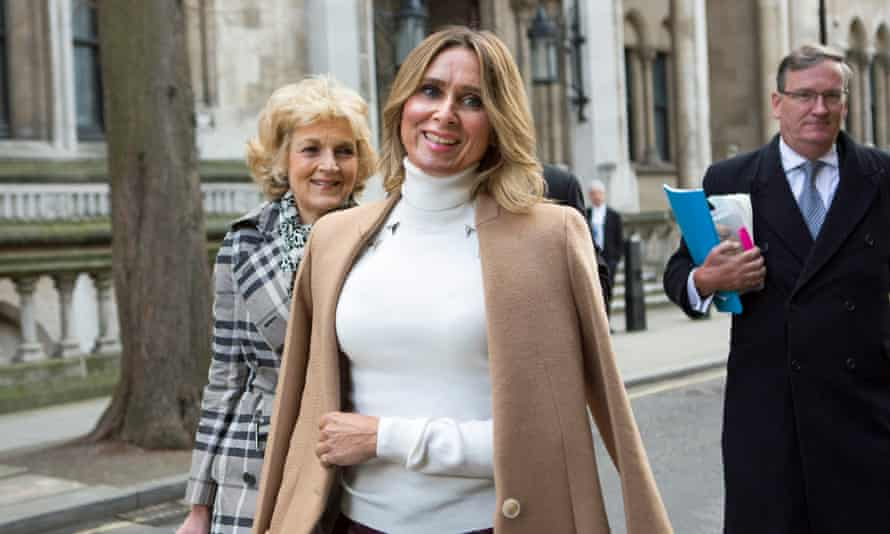 Tatiana Akhmedova leaving the high court in London in 2016, after being awarded a £453m divorce settlement.