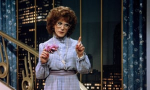 Hoffman in Tootsie … voted by actors the best of all time.