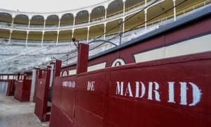 Madrid's Las Ventas bullring is deserted, following the cancellation of the 2020 bullfighting season due to the coronavirus lockdown.