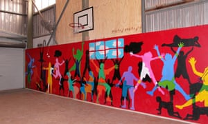 A youth centre operated by Tangentyere council for Indigenous children in Alice Springs, Australia.