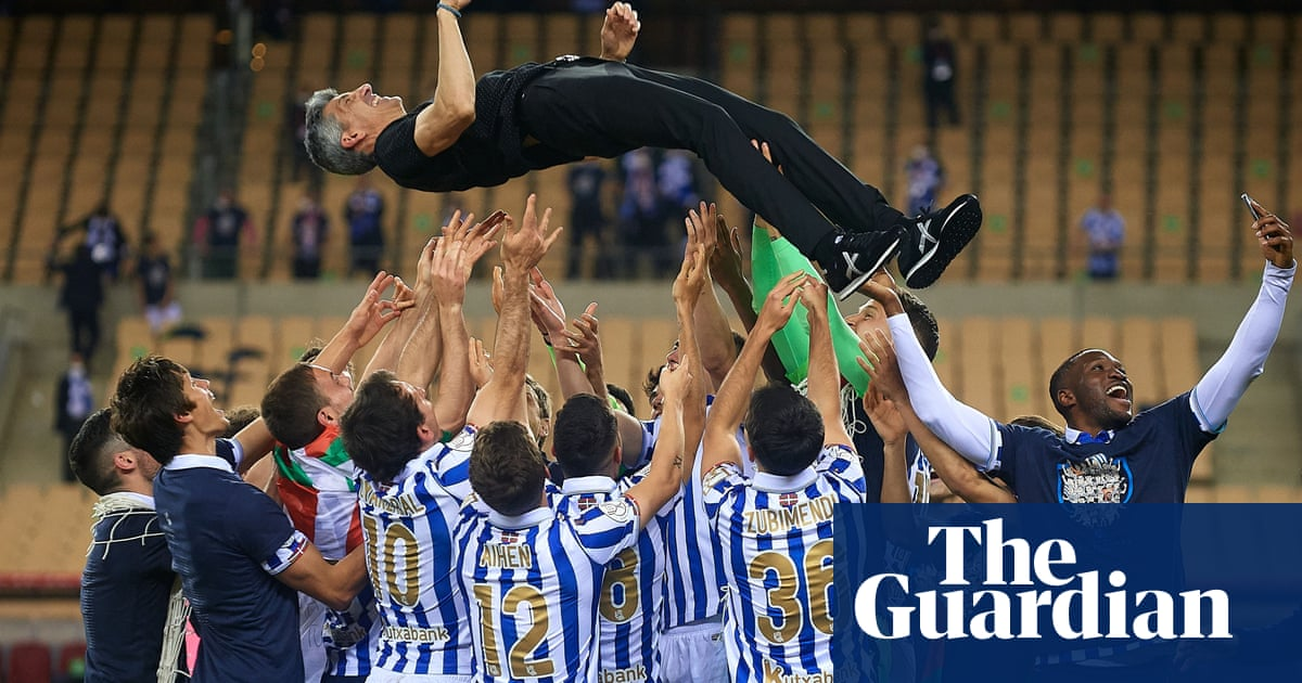 Alguacil unable to contain passion as Real Sociedad quench trophy thirst