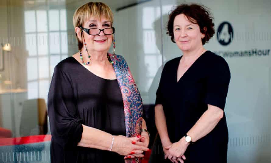 Woman's Hour presenters Jenni Murray (left) and Jane Garvey.