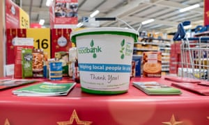 The Trussell Trust is the UK's largest food back charity.