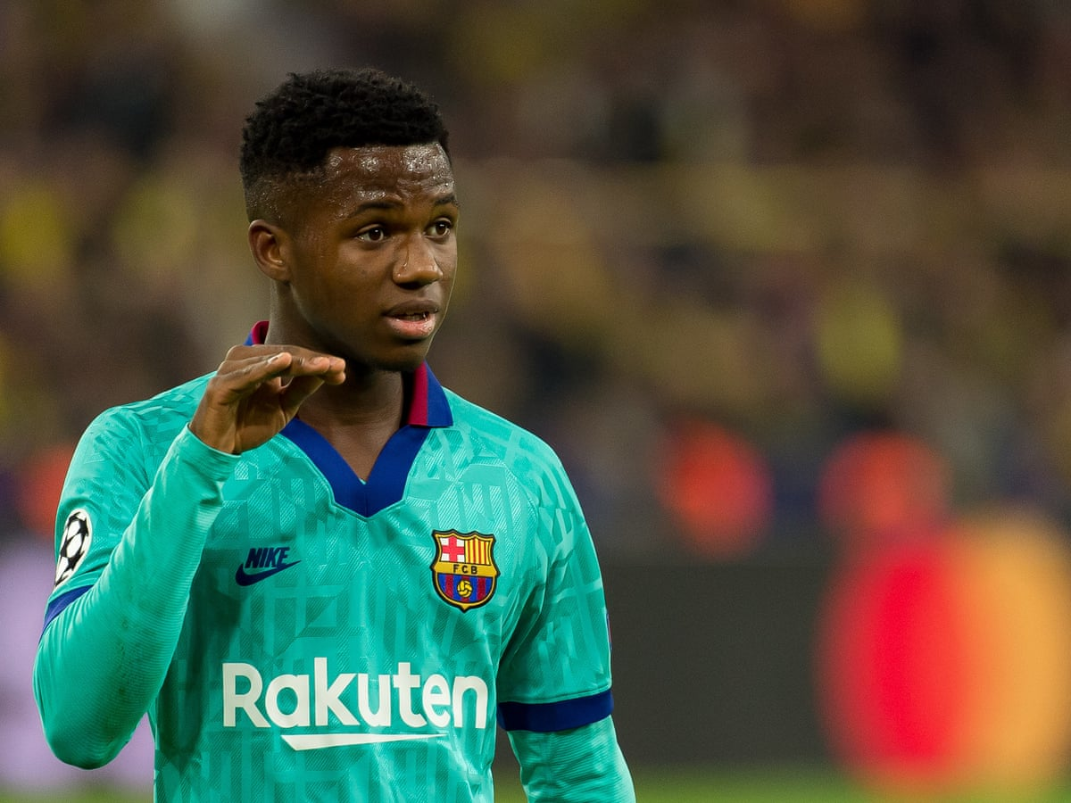 Barcelona S Ansu Fati Cleared To Play For Spain After Being Granted Passport Barcelona The Guardian