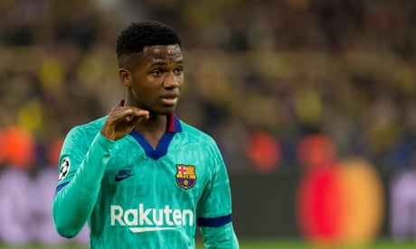Barcelona's Ansu Fati cleared to play for Spain after being granted passport