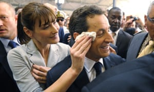 Carla Bruni-Sarkozy and her husband Nicolas were obsessed with publicity.