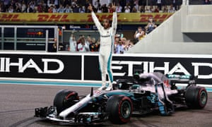 Victory in Abu Dhabi brought up Lewis Hamilton's 73rd F1 career win.