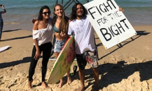 Protests against offshore drilling in the Bight have forced the Coalition and Labor to shift ground in the 2019 Australian election.