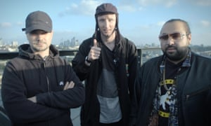 MC Grinda, Steves and Chabuddy G of Kurupt FM.
