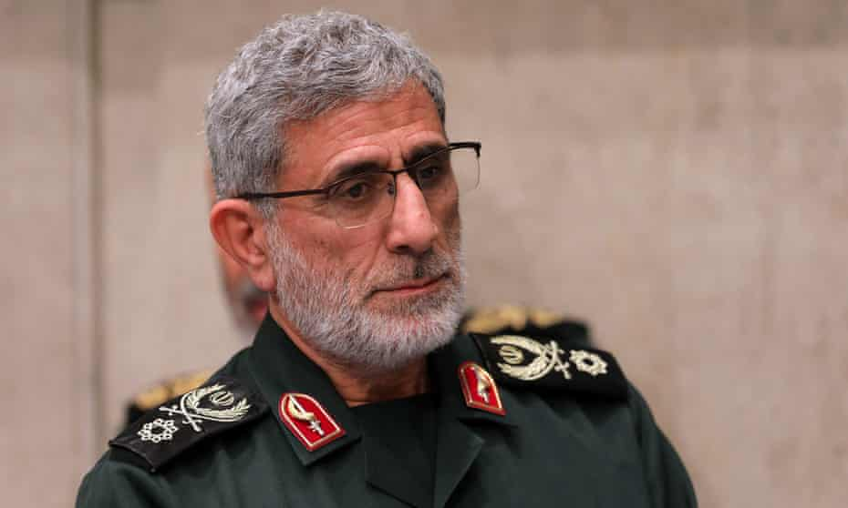 Esmail Qaani was appointed commander of the Quds Force following the killing of his predecessor, General Qassem Suleimani.