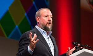 Shane Smith delivers the MacTaggart lecture in Edinburgh.