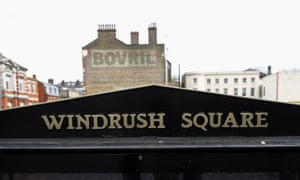 Windrush Square in Brixton, south London.