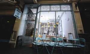 Exterior of Science Cream, Cardiff, a cafe-restaurant with an innovation, scientific take on ice-cream.