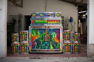 In Barranquilla, the indigenous and African cultures have lived side by side for centuries – and music is where a melding of cultures is most strongly felt. An outdoor sound system culture has steadily developed in Barranquilla since the 1950's, championing the Afro-Colombian sound. More than 200 sound systems (or picos) exist in the city. They are found everywhere: in billiard halls, bars, restaurants and out in the streets – but especially at carnival time, as Barranquilla is second only to Rio in the size of its carnival. Owners decorate their sonic beasts with hand-painted artwork.