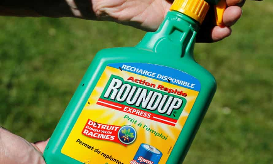 Monsanto's Roundup spray. The pesticides giant Bayer has agreed overnight to pay up to US$16bn to settle about 95,000 cases claiming the weedkiller caused cancer.
