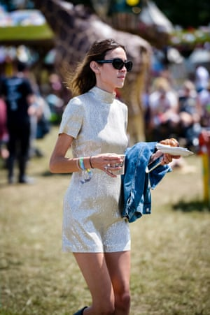 <strong>Chungwatch</strong> Lazy journalists would suggest that Alexa Chung and Moss are interchangeable festival icons, what with their Hunter wellingtons, GM shades and confusing choice of club wear as yurt wear, topped off by our collective envy at their being able to pull the whole look off. Lazy, lazy journalists.