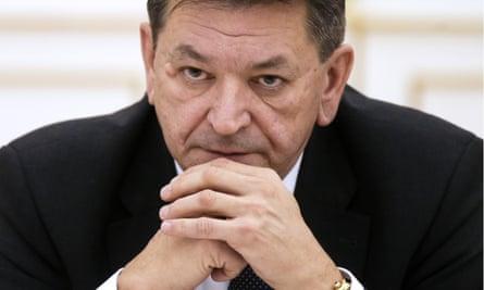 Alexander Prokopchuk, pictured in December 2016.