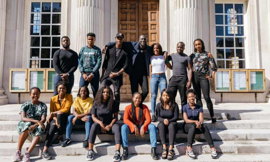 First step to success: candidates for the first Stormzy Scholarship in partnership with Cambridge University