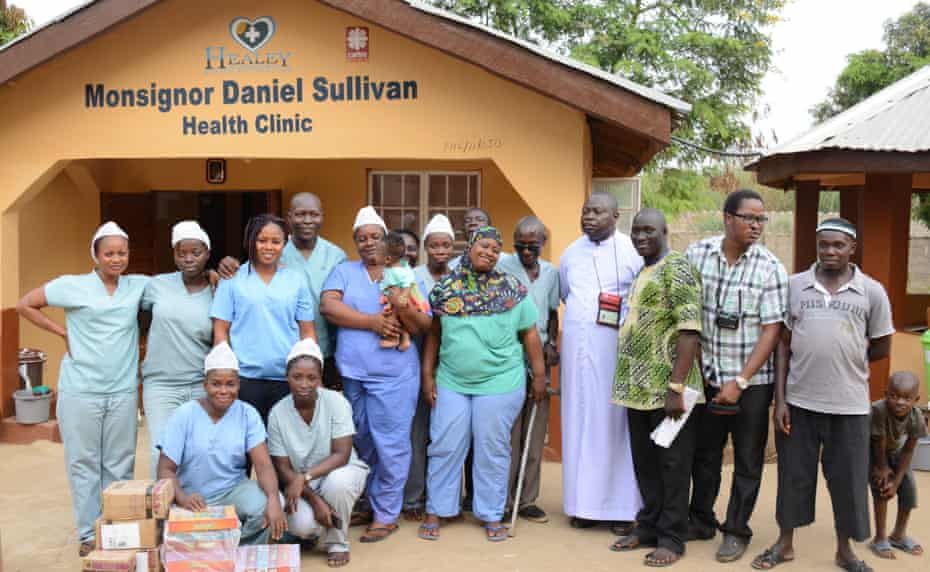 The Healey International Relief Foundation helps provide healthcare services to vulnerable populations in Sierra Leone.