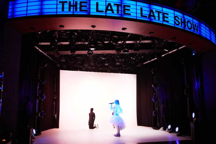 Poppy performs on The Late Late Show with James Corden in July.