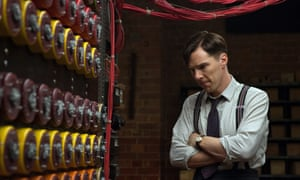 Benedict Cumberbatch as computer scientist Alan Turing in The Imitation Game.