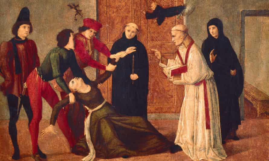 The master of San Severino's Release of a Woman from Possession by the Devil (15th century)