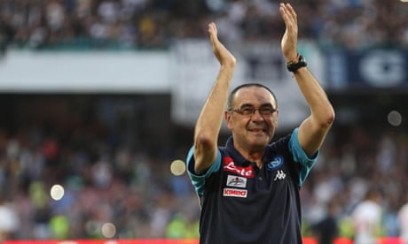 Napoli head coach Maurizio Sarri hints at exit amid Chelsea link