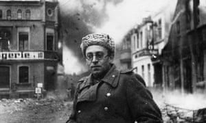 Vasily Grossman in Berlin in 1945.