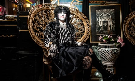 Kenneth Bunch aka Sister Vicious Power Hungry Bitch, founding member of Sisters of Perpetual Indulgence, at his San Francisco apartment.