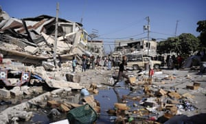 The earthquake that hit Haiti in 2010 killed 220,000 people and led to a humanitarian crisis.