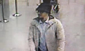 Authorities have not said if one of the charged men was this suspect, caught on CCTV at Brussels airport.