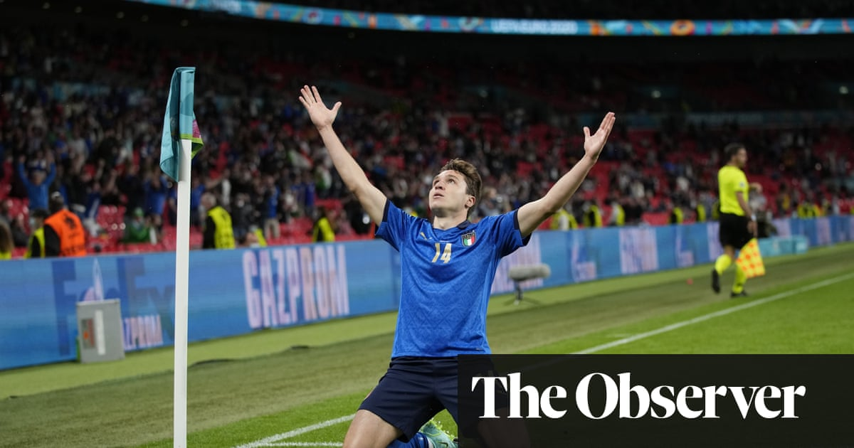 Federico Chiesa's extra-time missile makes Italy believe in miracles again