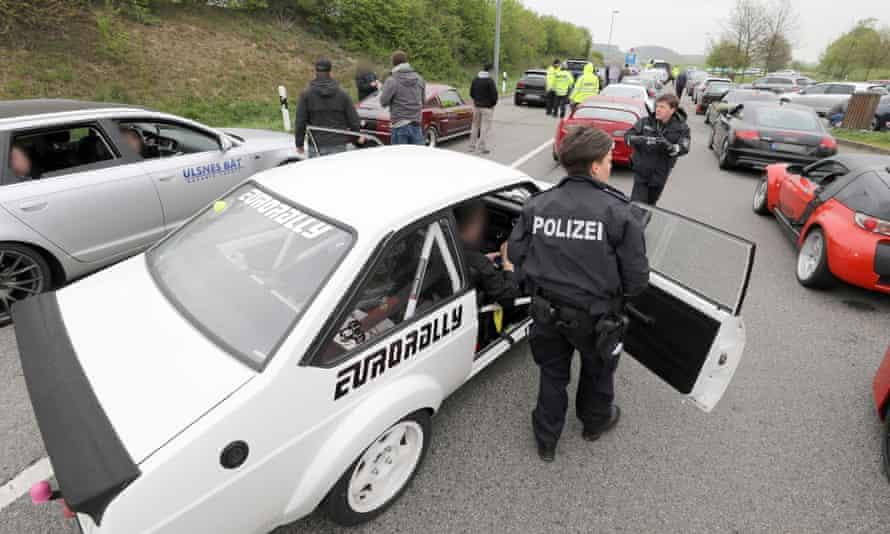 Police seize car