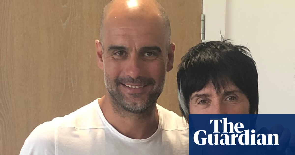 Pep Guardiola meets Johnny Marr: 'When we lose, it's asifwe've killed someone'