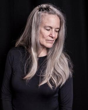 Poet Sharon Olds.