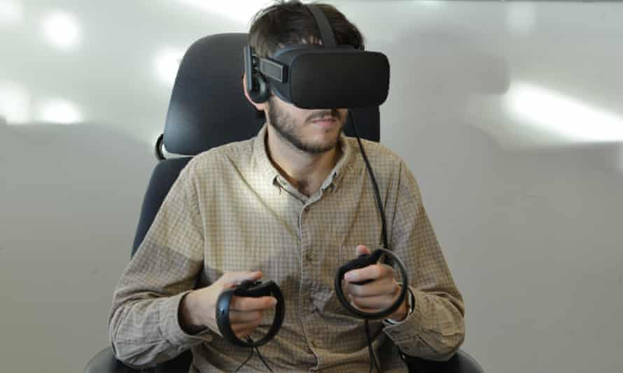 Poised and ready for some real work in virtual reality.