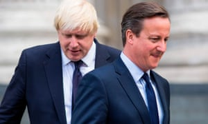 Boris Johnson with David Cameron in 2015