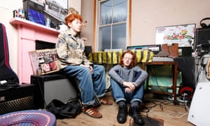 Archy and Jack Marshall at home in south London