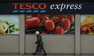 Tesco's small convenience stores are now feeling their age on streets where their neighbours are discounters.