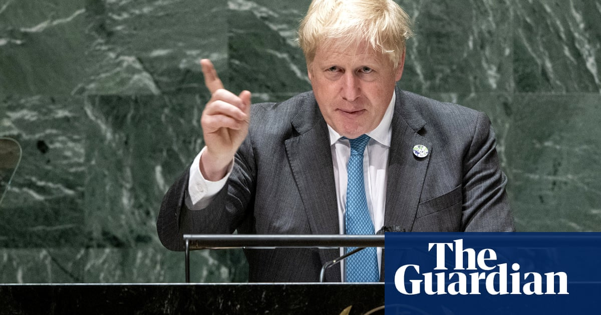 Thursday briefing: 'Grow up' on climate, Johnson urges