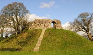 Wiston Castle, nr Haverfordwest, Pembrokeshire
