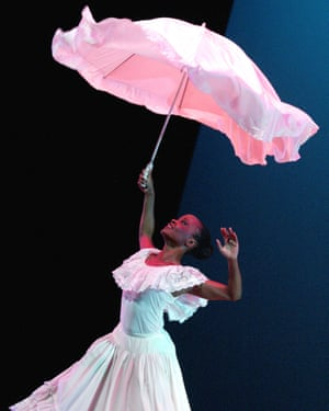 A scene from a 2002 production of Alvin Ailey's Revelations, which returns along with new work to Sadler's Wells.