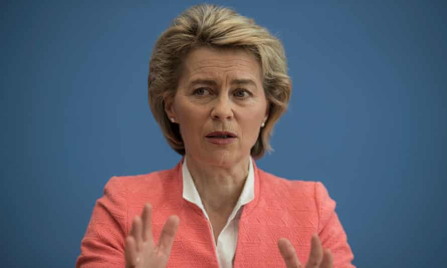 Ursula von der Leyen, German minister of defence, said military spending was not only for Nato, but also for European missions and fighting terrorism.
