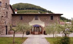 Villa Gradoni, Villa Franciacorta, Franciacorta, Italy.
