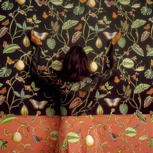Self portrait photographs by artist Cecilia Parades.